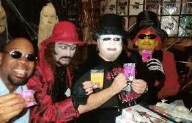Dr. Sarcofiguy, A. Ghastlee Ghoul, Dr. Creep, Halloween Jack
