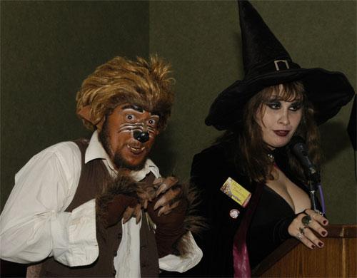 Horror Hostess Penny Dreadful and Garou