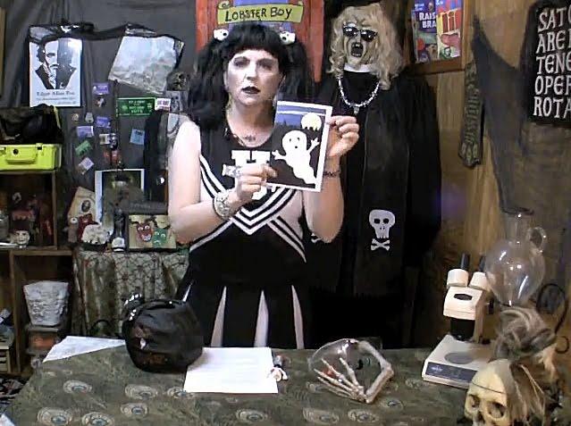 Sally Zombie the Cheerleader Horror Host