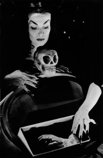 Vampira - One of the first horror hosts. Out of Los Angeles, California