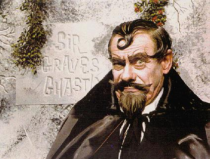 Sir Graves Ghastly - Early Detroit, Michigan,  horror host