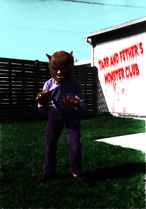 Monster Club Wolf Boy
