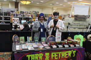 T&F's Table at MonsterFestMania 2016