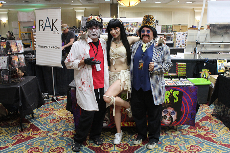 Tarr and Fether and Janet Decay-Monsterfestmania 2016